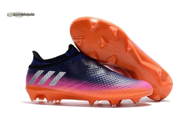 Ventes pas cher Adidas Messi 16+ Pureagility FG Rose Orange