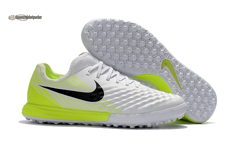 Ventes pas cher Nike MagistaX Finale II TF Jaune Blanc