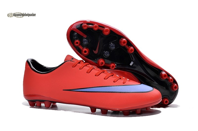 Ventes pas cher Nike Mercurial Superfly AG Orange Bleu