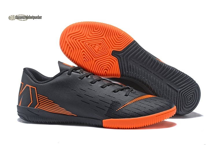 Ventes pas cher Nike Mercurial VaporX 12 Club IC Noir Orange