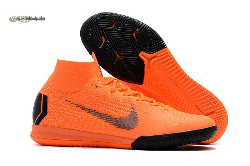 Ventes pas cher Nike SuperflyX 6 Elite IC Orange