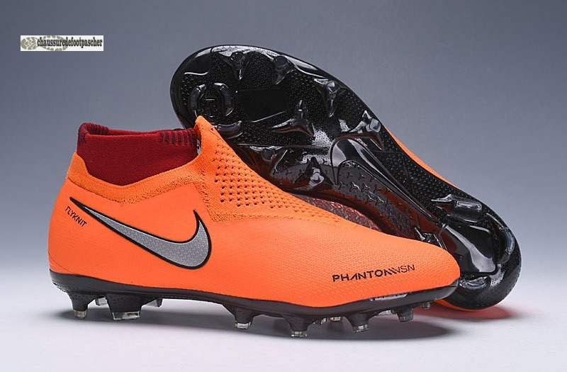 Ventes pas cher Nike Phantom VSN Elite DF FG Orange