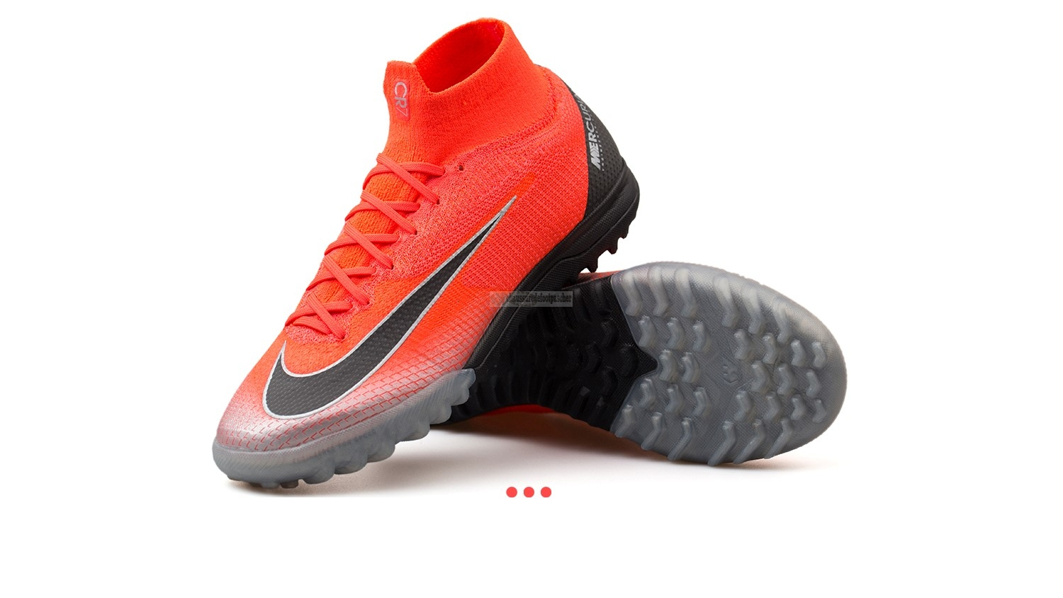 "Ventes pas cher Nike Mercurial Superfly 6 Elite CR7 TF ""Built on Dreams"" Rouge"