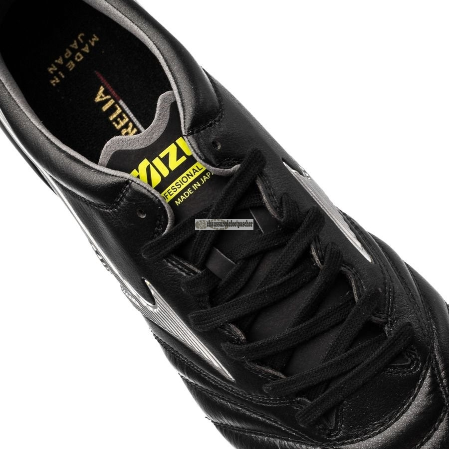 Ventes pas cher Mizuno Morelia Neo II Made in Japan FG Black Star Noir Jaune