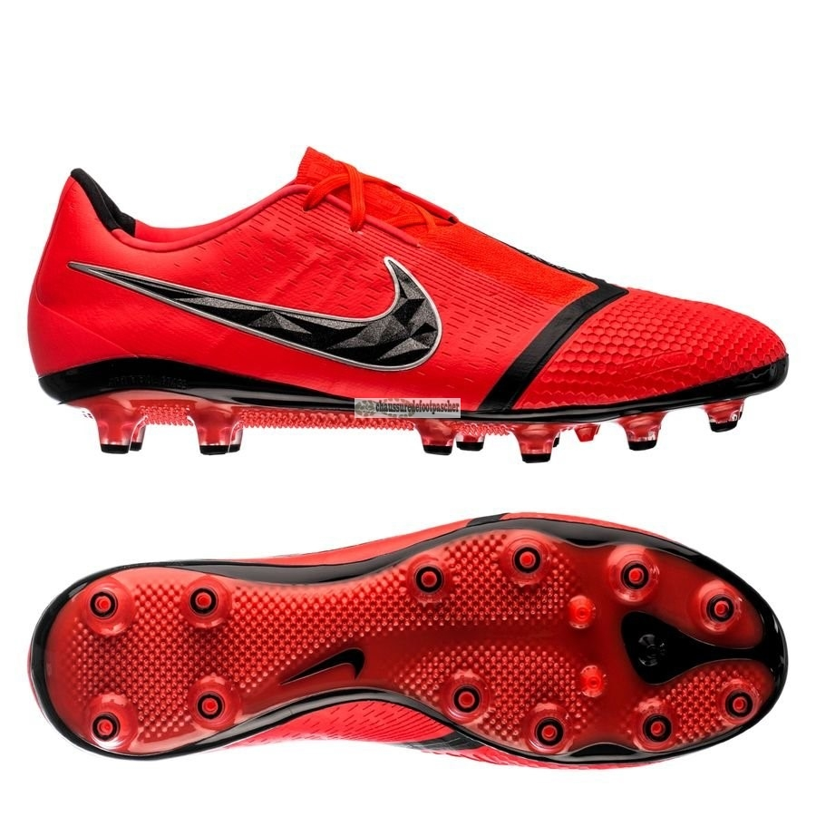 Ventes pas cher Nike Phantom Venom Elite AG PRO Game Over Rouge