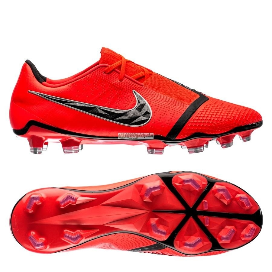 Ventes pas cher Nike Phantom Venom Elite FG Game Over Rouge
