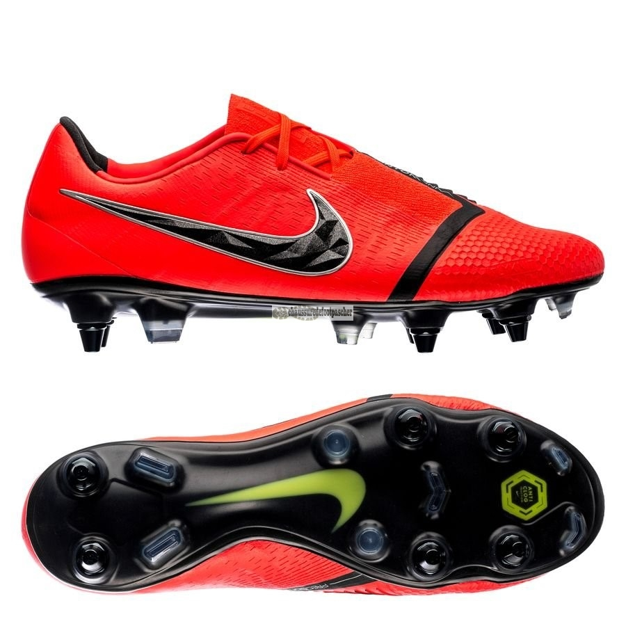 Ventes pas cher Nike Phantom Venom Elite SG PRO Game Over Noir Rouge