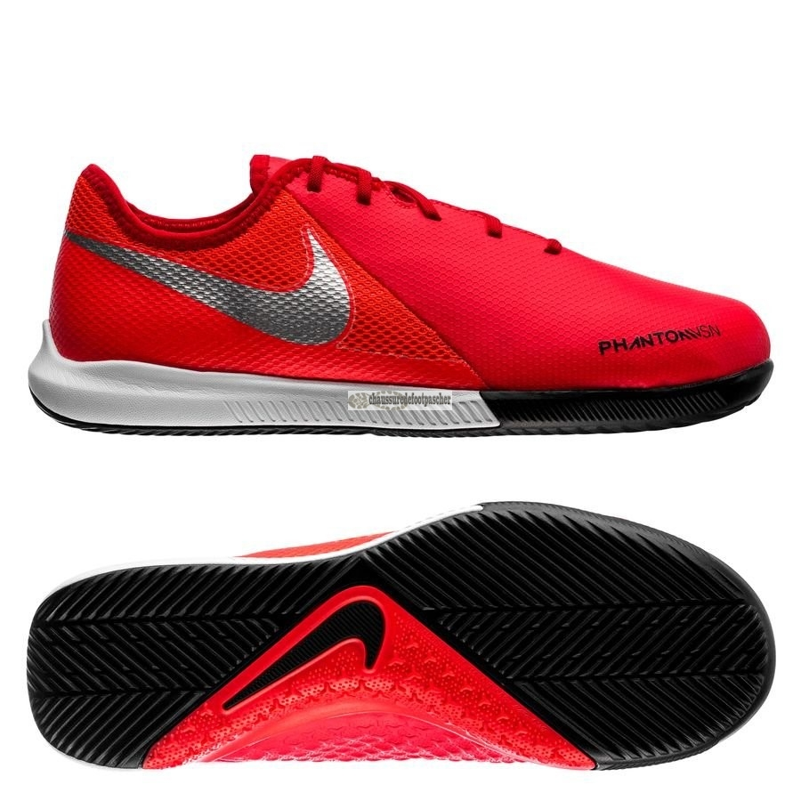 Ventes pas cher Nike Phantom Vision Academy Enfant IC Game Over Rouge