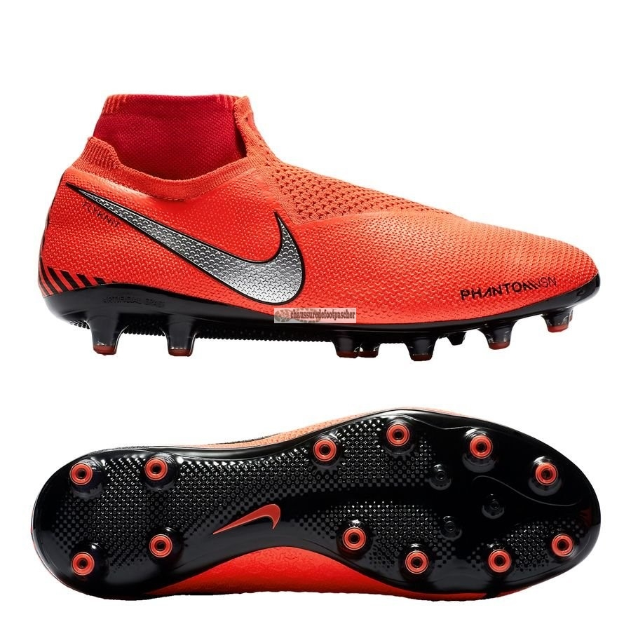 Ventes pas cher Nike Phantom Vision Elite DF AG PRO Game Over Orange