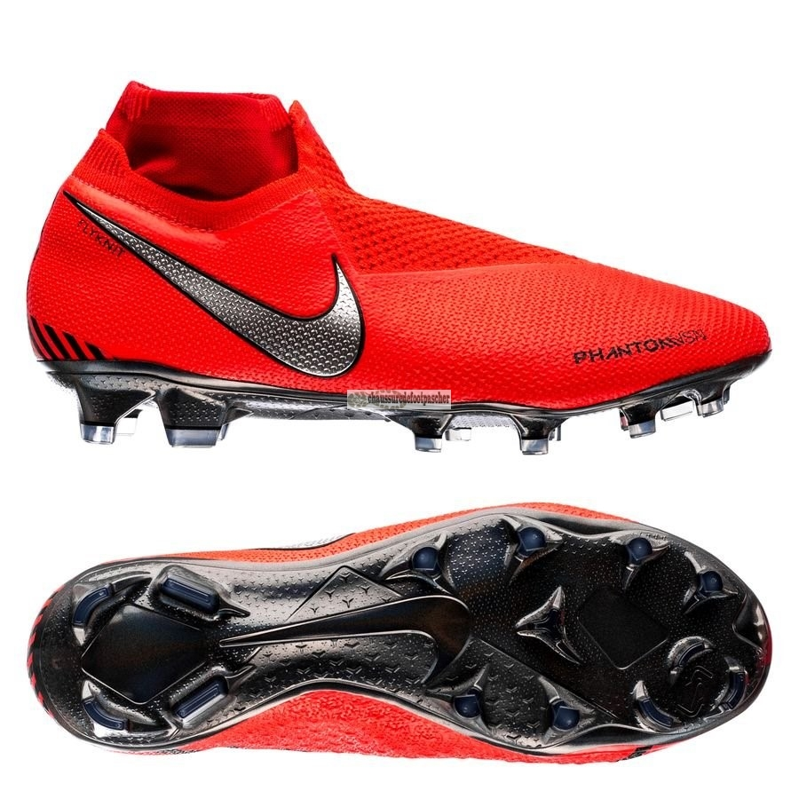 Ventes pas cher Nike Phantom Vision Elite DF FG Game Over Rouge