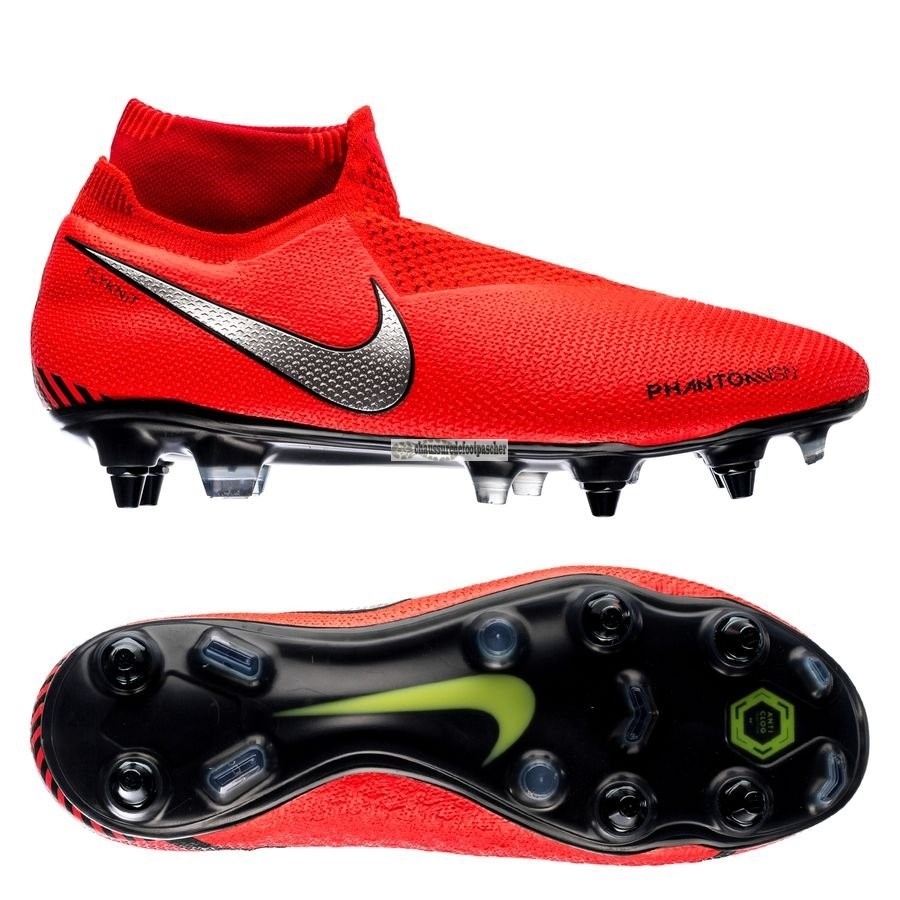 Ventes pas cher Nike Phantom Vision Elite DF SG PRO Anti Clog Game Over Rouge