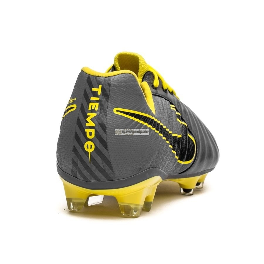 Ventes pas cher Nike Tiempo Legend VII Elite FG Game Over Gris Jaune