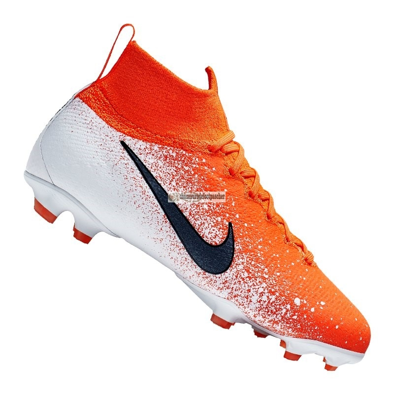 Ventes pas cher Nike Jr Mercurial Superfly VI Elite Enfant FG Orange