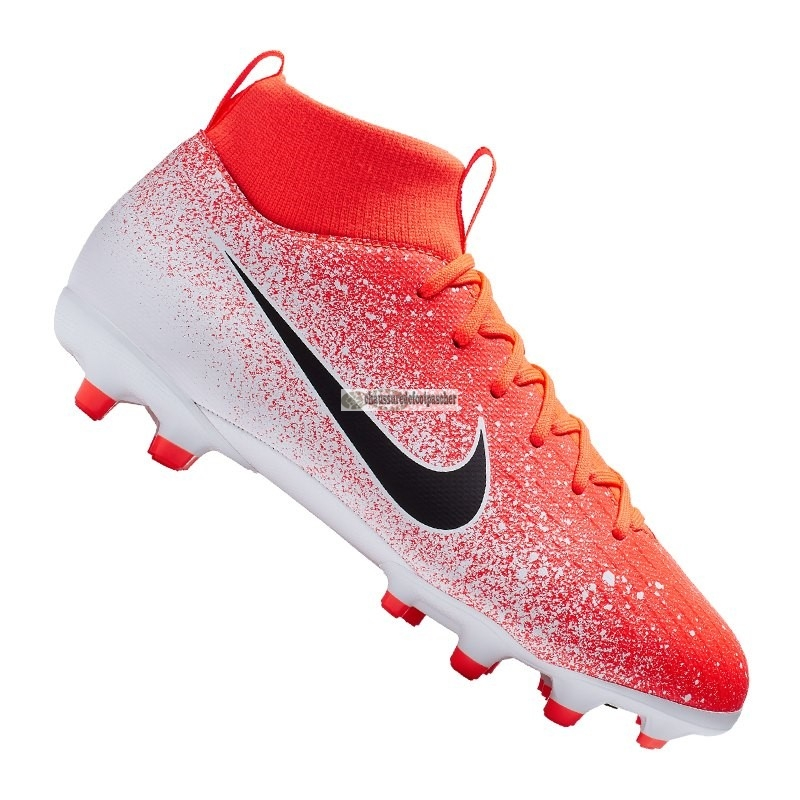 Ventes pas cher Nike Mercurial Superfly VI Academy Enfant MG Orange