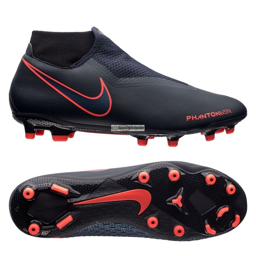 Ventes pas cher Nike Phantom Vision Academy DF MG Fully Charged Noir