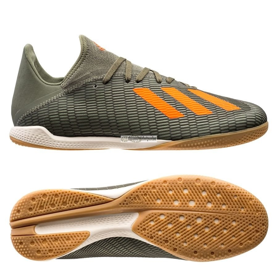 Ventes pas cher Adidas X 19.3 IN Encryption Vert