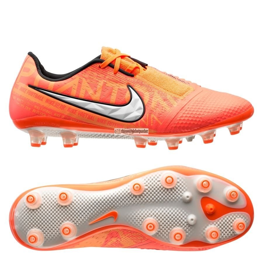 Ventes pas cher Nike Phantom Venom Elite AG PRO Fire Orange