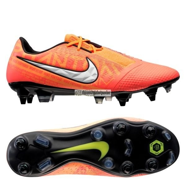 Ventes pas cher Nike Phantom Venom Elite SG PRO Anti Clog Fire Orange