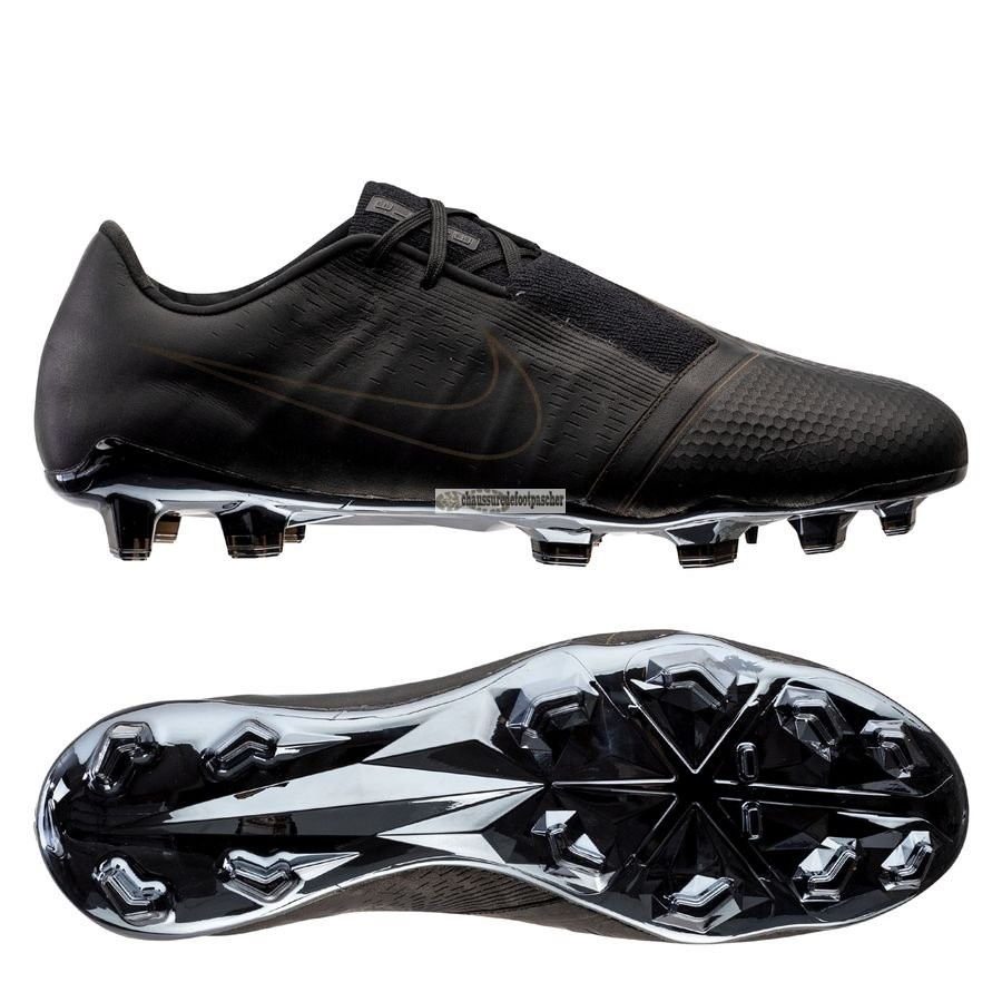 Ventes pas cher Nike Phantom Venom Elite Tech Craft FG Noir Brun