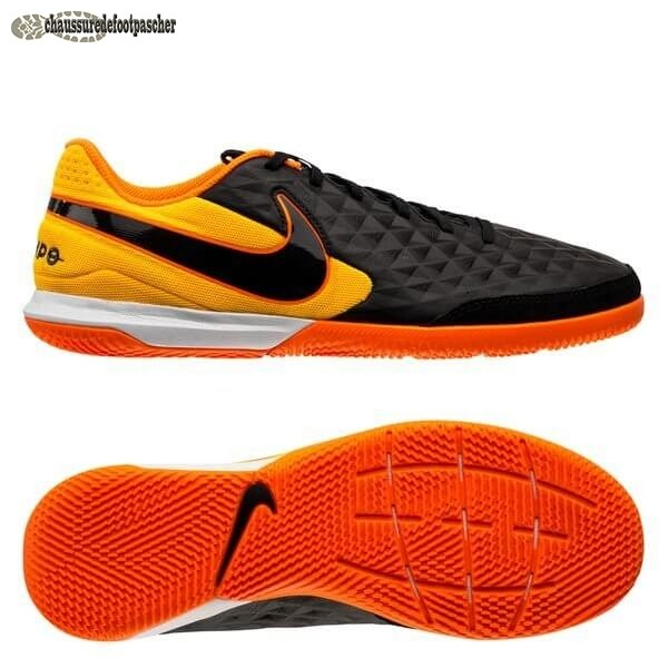 Ventes Pas Cher Nike Tiempo Legend 8 Academy IC Noir Orange