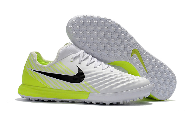 Ventes Pas Cher Nike MagistaX Finale II TF Blanc Jaune