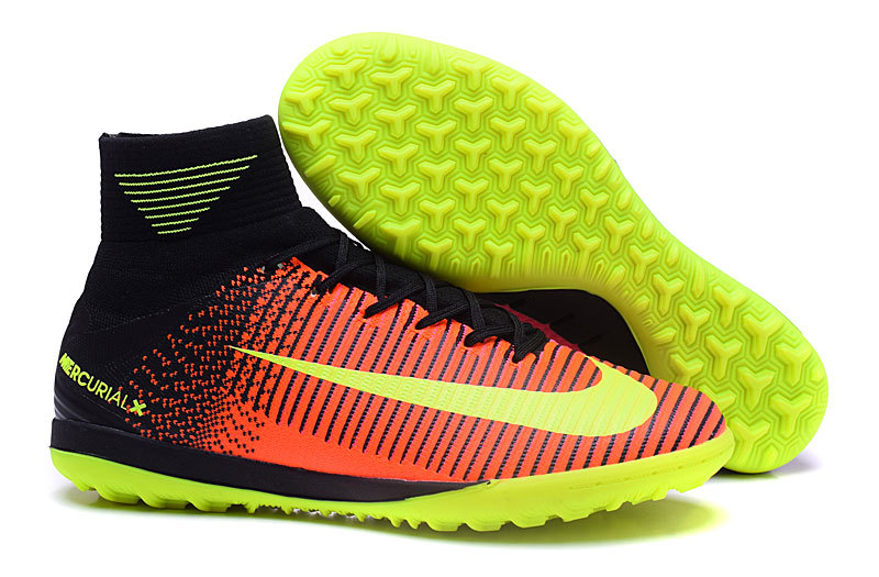 Ventes Pas Cher Nike MagistaX Proximo II TF Orange Rose Jaune