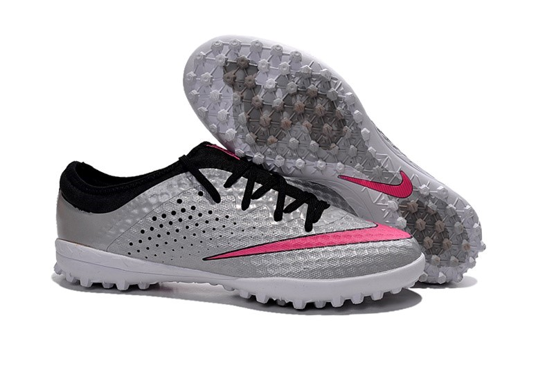 Ventes pas cher Nike Elastico Finale III TF Argent Rouge