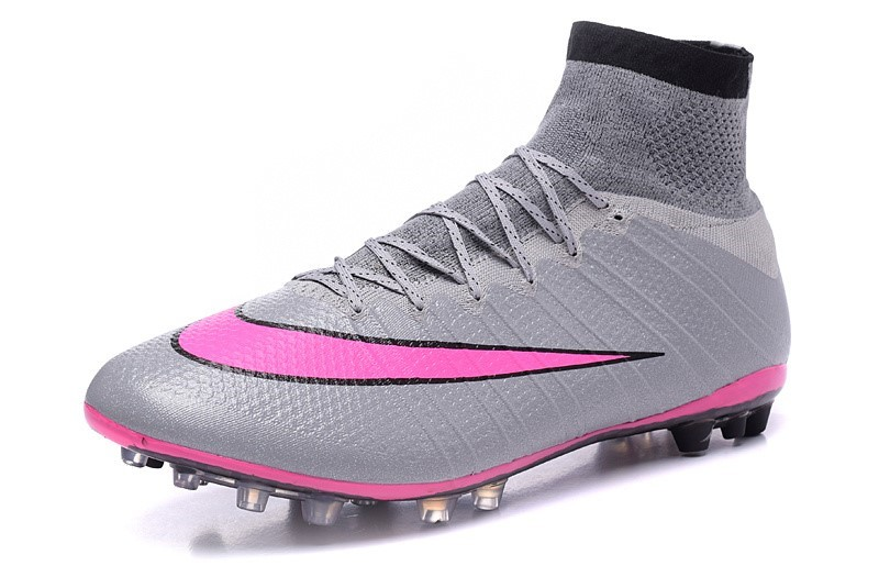 Ventes pas cher Nike Mercurial Superfly AG Gris Rose