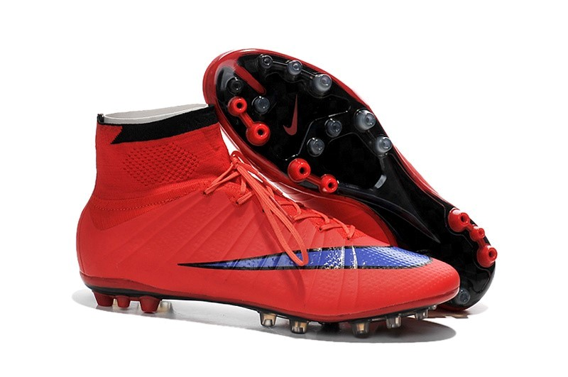 Ventes pas cher Nike Mercurial Superfly AG Rouge