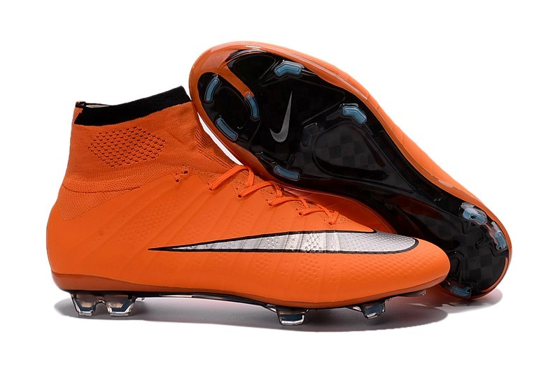 Ventes pas cher Nike Mercurial Superfly FG Orange Gris