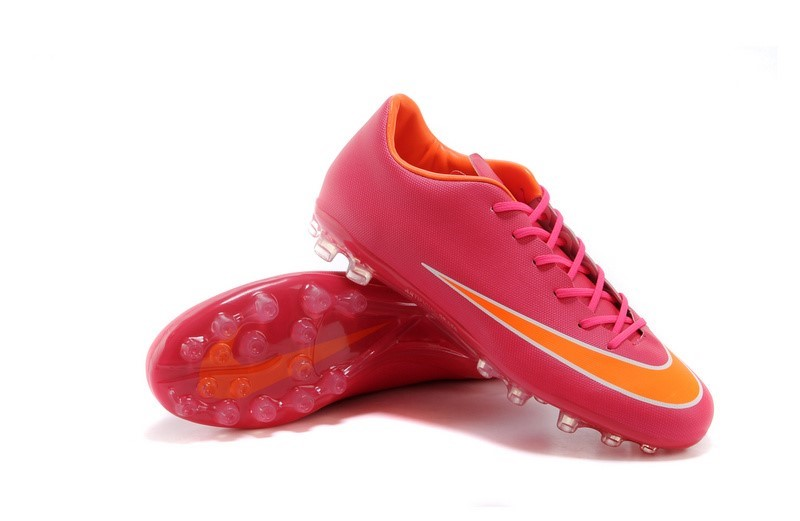 Ventes pas cher Nike Mercurial X Vapor AG Rose Orange