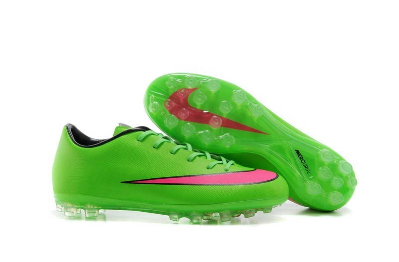 Ventes pas cher Nike Mercurial X Victory AG Vert Rouge