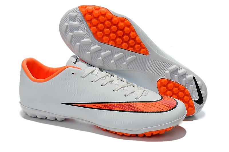 Ventes pas cher Nike Mercurial X Victory Femme TF Blanc