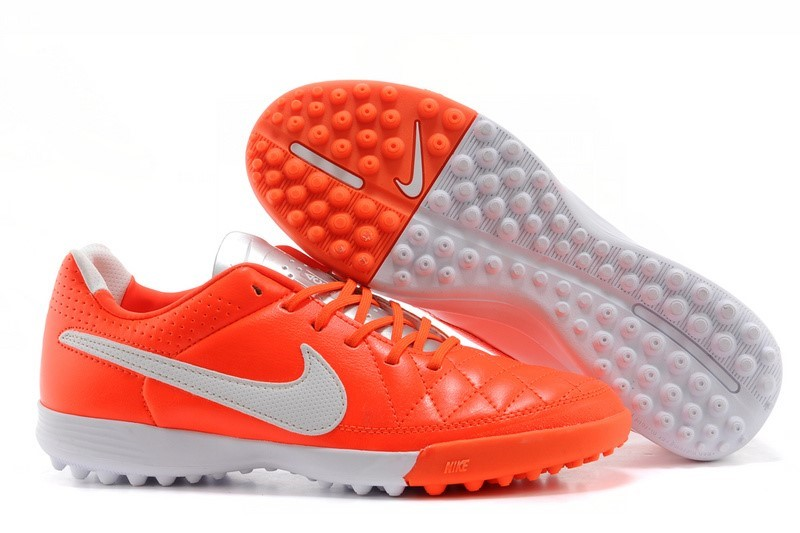 Ventes pas cher Nike Tiempo Mystic V TF Rouge Blanc