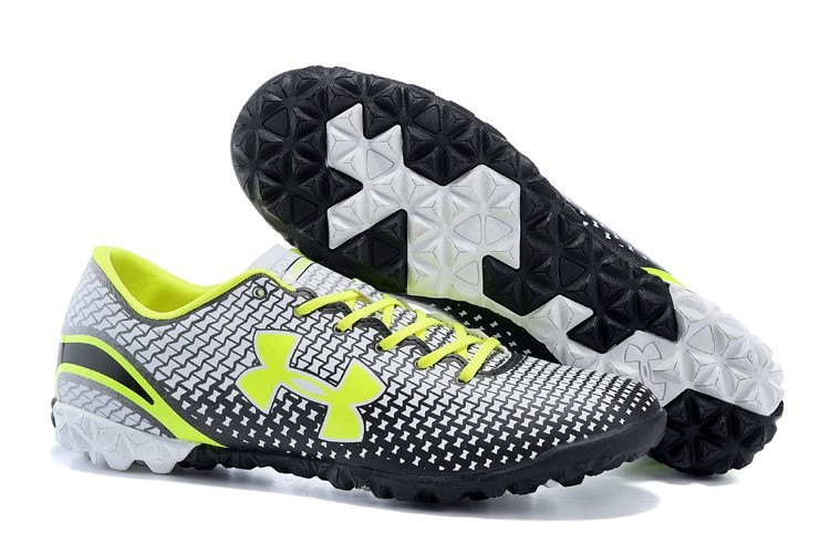 Ventes pas cher Under Armour Clutchfit Force TF Vert Blanc